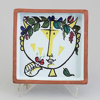 STIG LINDBERG, fat, keramik, Gustavsberg, 1900-talets andra hälft.