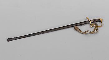 SABEL, m/1899 för officer vid infanteriet.