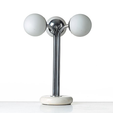 "Superstudio, a ""polaris"" lamp by design center poltronova, italy 1960-70´s."