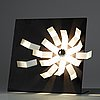 "Gianni villa, a ""kalamo"" lamp for valenti, italy 1970's"