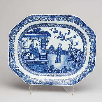 FAT, porslin, Kina, Qianlong, 1700-tal.