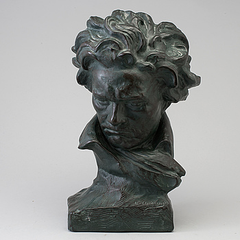 UGO CIPRIANI, efter, skulptur, gips, signerad.