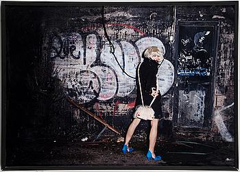 KAROLINA HENKE, Fotografi signerad och numrerad AP a tergo ram.