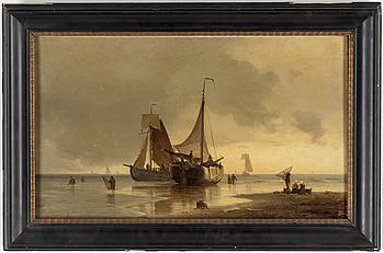 VIGGO FAUERHOLDT, Olja på duk, signerad och daterad 1860.