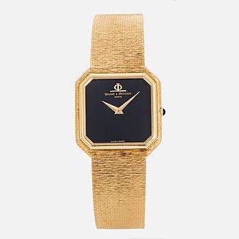 BAUME & MERCIER, Geneve, armbandsur, 27 x 28 mm,