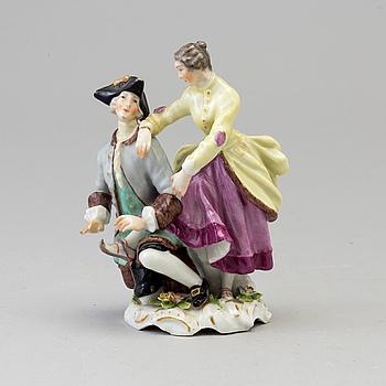 A Samson figurine, Paris, France late 19th Century.