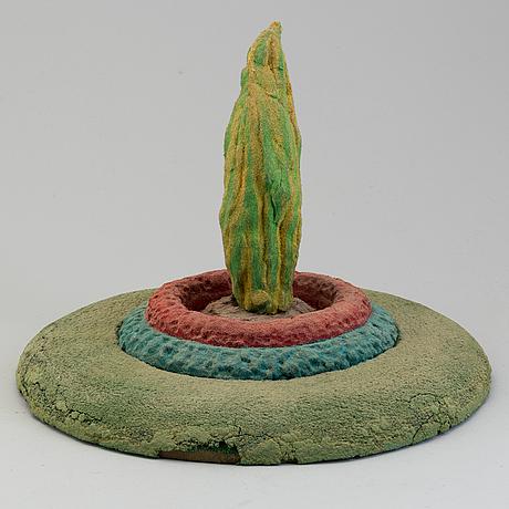 Ivor abrahams, skulptur, konstruktion i blandteknik
