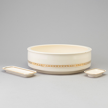 3 pcs of earthenware service from Villeroy & Boch, 20th century.