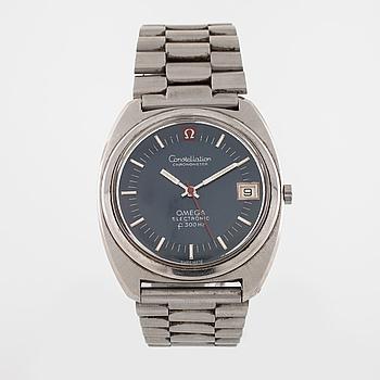 OMEGA, Contellation Chronometer Electronic (f300Hz), 33 (43) mm.