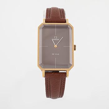 OMEGA, De Ville, armbandsur, 24 x 32 mm.