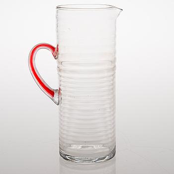 "NANNY STILL, TILLBRINGARE, glas, ""Perpetum Mobile""-serien, Riihimäki Glasbruk 1972."