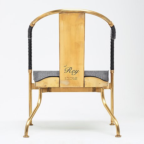 "Mats theselius, an ""el rey"" easy chair by källemo sweden, post 1999."