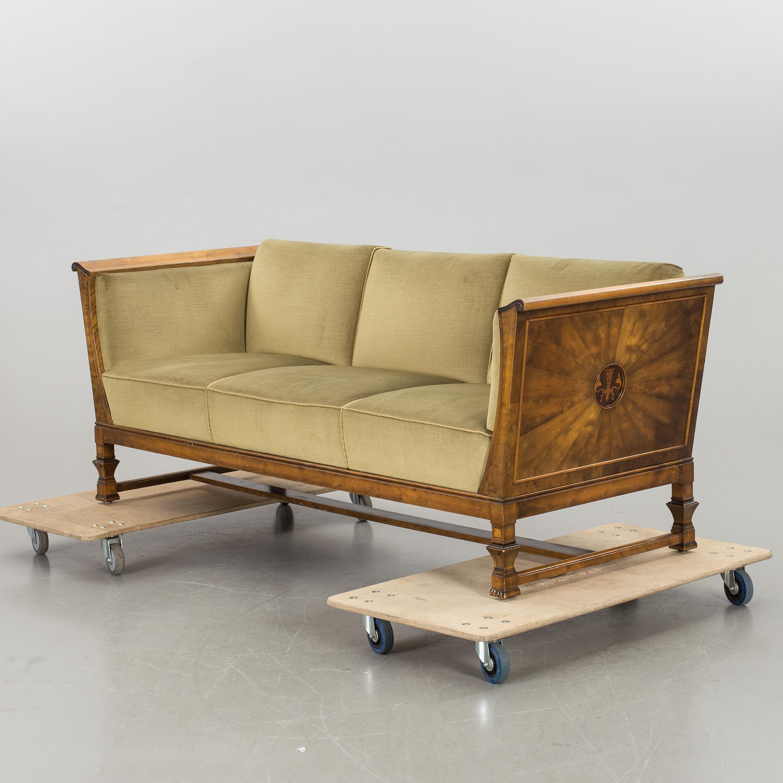 A 1920s,30s swedish grace / art deco sofa from AB Seffle