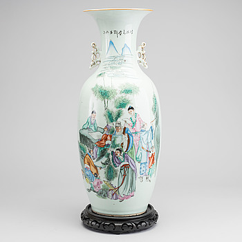 GOLVURNA Kina omkring 1900 porslin.