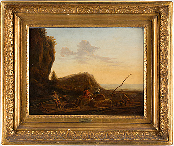 JACOB VAN STRIJ, attributed to. Oil on panel.