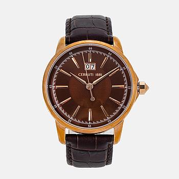 CERRUTI, armbandsur, 43 mm,