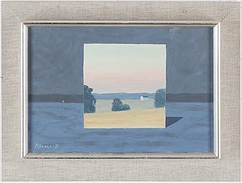 STELLAN MÖRNER, STELLAN MÖRNER, oil om canvas, signed and dated -71.