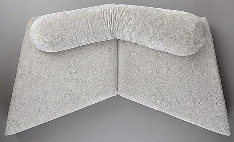 """Francesco binfarÉ, an """"on the rocks"""" sofa, edra, italy, post 2004."""