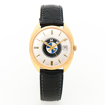 BMW, armbandsur, 34 x 34 (38) mm.