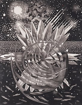 """245. James Rosenquist, """"Welcome to the Water Planet""""."""