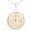 "A tapio wirkkala pendant, ""silver moon"", silver. kultakeskus 1971"