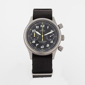 OMEGA, Dynamic Automatic, armbandsur, kronograf, 38,5 mm.