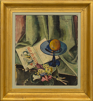 AGDA HOLST, AGDA HOLST, oil on canvas signed and dated 1933.
