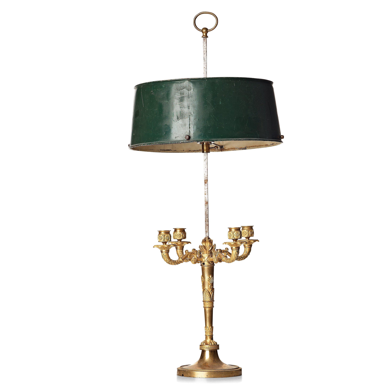 Sidste nye A Empire Lampe à bouillotte. - Bukowskis NH-34
