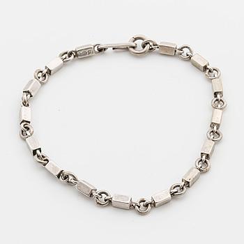 WIWEN NILSSON a silver bracelet, Lund 192,