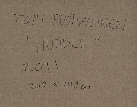 "Topi ruotsalainen,""huddle""."