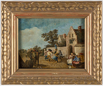 DAVID TENIERS D.Y, in the manner of, oil on panel.