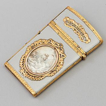 SOUVENIR D'AMITIÉ, omkring år 1800.