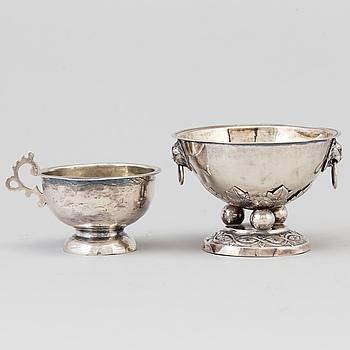 SUPKOPP och SALTKAR, Ryssland samt Erik Ernander, Uppsala, 1775.