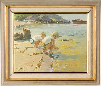 GUSTAF CARLSTRÖM, GUSTAF CARLSTRÖM, oil on canvas, signed.