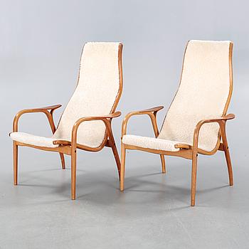 "YNGVE EKSTRÖM, a pair of ""Lamino"" armchairs, Swedese."