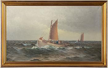 JOHAN OSSIAN-ANDERSSON, JOHAN OSSIAN-ANDERSSON, oil on canvas, signed Th Sandström, dated 1926.