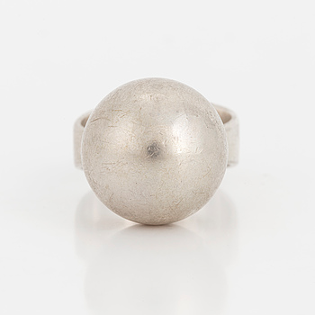 GERT THYSELL, Ring, silver.