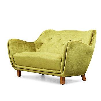 240. SVENSK FORMGIVARE, soffa, sannolikt 1950-tal.