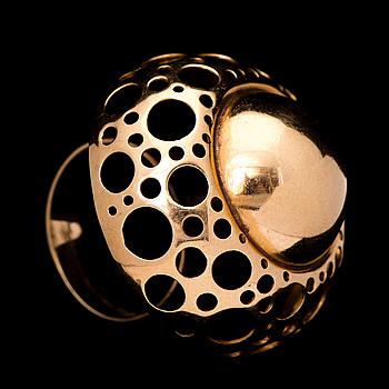 LIISA VITALI, RING, 14K guld. 1968.