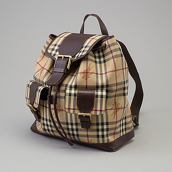 BURBERRY, ryggsäck.