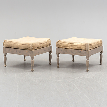 PALLAR, ett par, 1800-talets första hälft.