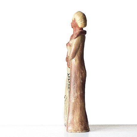"""Stig lindberg, skulptur, """"systrarna"""", gustavsbergs studio 1940-tal."""