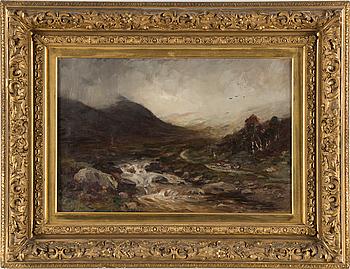 MARSHALL BROWN, olja på duk, signerad och daterad 1898.