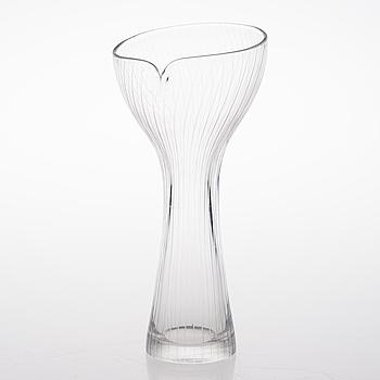 TAPIO WIRKKALA, VAS, glas, modell 3520, signerad Tapio Wirkkala Iittala -56.
