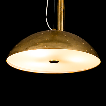A mid-20th century pendant lamp for Idman Finland.