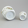 Two porcelain outer linings, herend, hungary, mid 20th cnetury