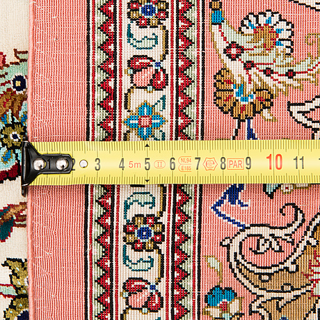 Matta, silke, qum 200x130 cm.