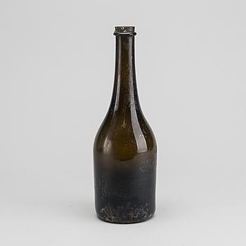 FLASKA, 1800-tal glas.