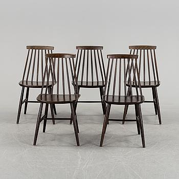 """STOLAR, fem stycken, """"Tellus"""", Ikea, 1960 / 70-tal."""