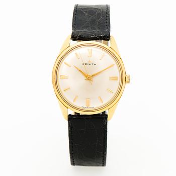 ZENITH, armbandsur, 34 x 34 (41) mm.